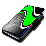 Book Style Flip Handy Tasche Case Schutz Hülle Schale Motiv Foto Etui für HTC One A9 - A46 Design2