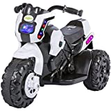 GoodLuck Baybee Diabolico Battery Operated Bike For Kids Motorcycle Rechargeable Battery Operated Ride On Bike Toys 2 To 4 Years Kids For Boys And Girls (White)