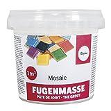 RAYHER 1460100 Fugenmasse, 1A Qualität, Dose 500 g, weiß -
