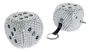 Dazzle Mini dés haut parleur portable en cristaux Swarovski Porte-clés