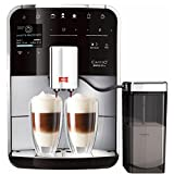 Melitta F750-201 Barista TS Coffee Machine, 1.8 Litre, 1450 W, 15 Bar, Silver