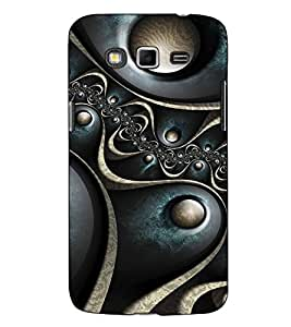Fuson Designer Back Case Cover for Samsung Galaxy Grand I9082 :: Samsung Galaxy Grand Z I9082Z :: Samsung Galaxy Grand Duos I9080 I9082 (Grey Designer pattern theme)