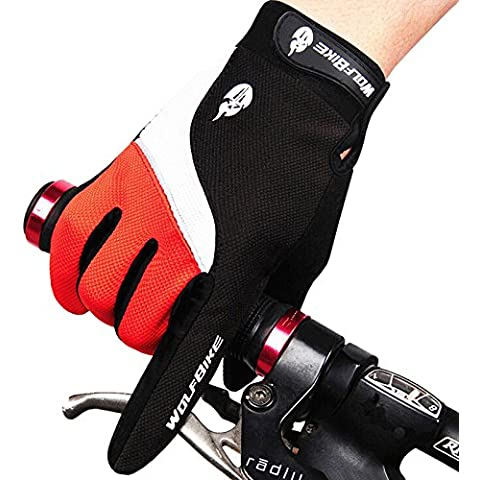 West Biking Winter Full finger Cycling Gloves