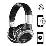 Handy Wireless Kopfhörer | für ALDI Medion Life E4506 | 3.5 mm Aux-Ausgang, eingebauten HD Mikrofon | Kabellos Stereo Headset | Kopfhörer Silber ZB19