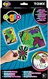 Tomy 71584 - TOMY - o-glo - Paint N' Glo - Fluoreszierende Malbögen