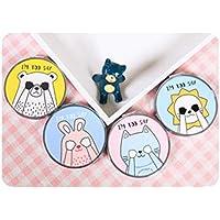 EoamIk Baby Spielzeug Spiegel Mini Runde Metall Kleine Glas Spiegel Kreise für Handwerk Dekoration Kosmetisches Zubehör preisvergleich bei kleinkindspielzeugpreise.eu