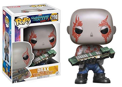Funko-Pop-pelcula-Guardianes-de-la-galaxia-Vol-2-Drax-Figura-de-vinilo