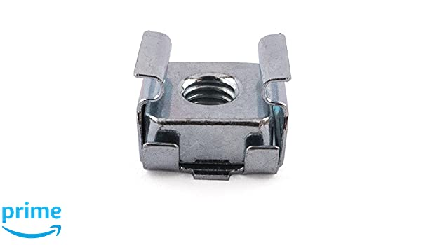 Pack of 50 Zinc Plated 0.7-1.6mm Panel M4 Steel Cage Nuts