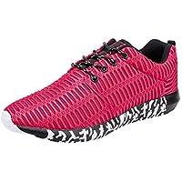 ☺HWTOP Herren Sneakers Sportschuhe Laufschuhe Plateauschuhe Turnschuhe Fashion Männer Schnürstiefel Schuhe Canvas Schuhe Schuhe Trainer Outdoor Freizeitschuhe Fitnessschuhe Mesh Schuhe