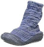 Playshoes Unisex-Kinder Socke gestrickt Hohe Hausschuhe, Blau (Marine 11), 26/27 EU