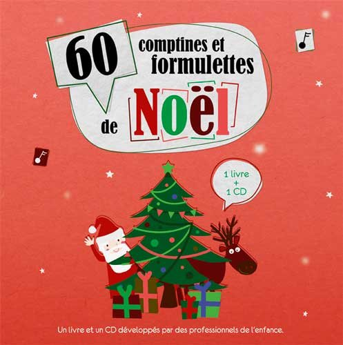 60 comptines et formulettes de Noël (1 CD audio)