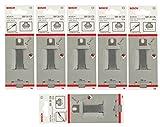 Bosch 6 Stück Schaber Messer SM 35 CS für Bosch PSE 150 180E 220E GSE 300E