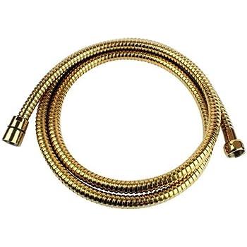 1//2 Flexible de douche laiton vieux old laiton brass 170 cm
