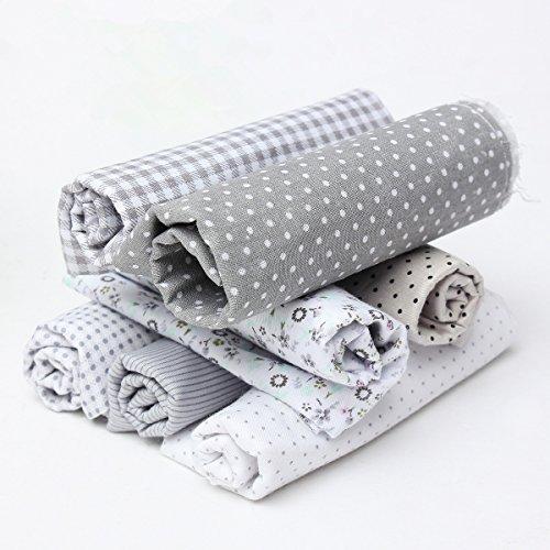 king-do-way-baumwollstoff-7-stueck-stoffpakete-patchwork-stoffe-baumwolle-stoffreste-paket-stoffpake