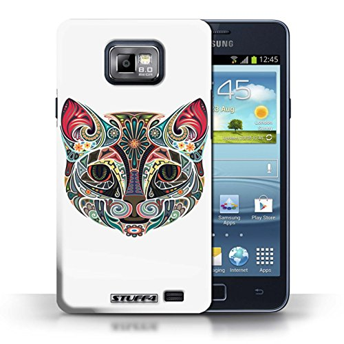 stuff4-phone-case-cover-for-samsung-galaxy-s2-sii-cat-design-ornamental-animals-collection