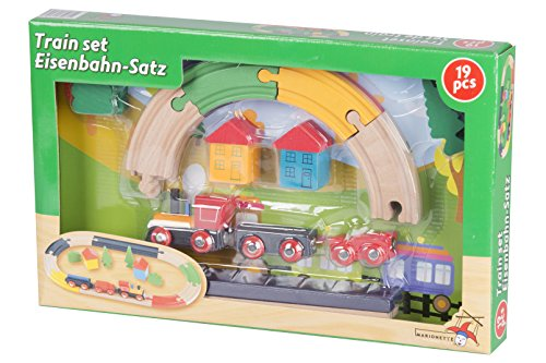Eddy Toys - 53156 - Circuit De Train - 19 Pièces - WD