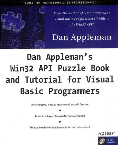 Dan Appleman\'s Win32 API Puzzle Book and Tutorial for Visual Basic Programmers