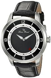 Lucien Piccard Mens LP-15024-01 Grotto Analog Display Quartz Black Watch