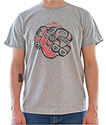 Native American Indian Tribal Art Mens T-Shirt XX-Large