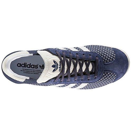 Adidas Gazelle PrimeKnit Bleu/Violet, Baskets pour Homme. Nubuk et Textile Sneaker blau/violett