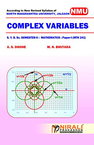 COMPLEX VARIABLES Mathematics - Paper - I (MTH - 241) (English Edition) por Prof. DHONE A. S.