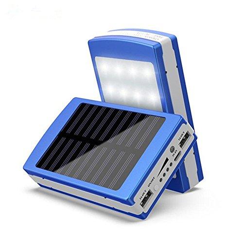 Fanxing Men's Fashion Solar LED Portable Dual USB Power Bank 5x18650 External Battery Charger DIY Box