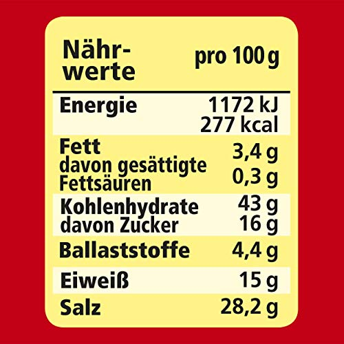 Maggi Würzmischung 4 Knackige Salate, 8er Pack (8 x 60 g)