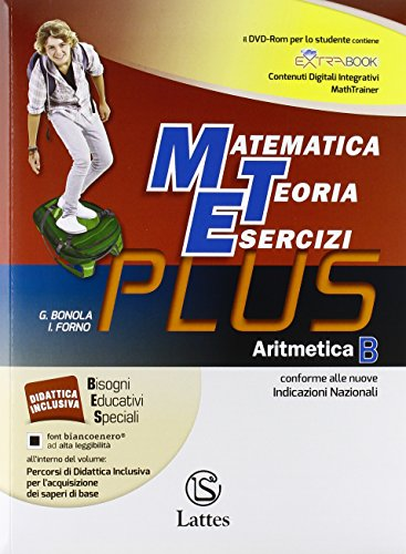 Matematica teoria esercizi. Plus. Per la Scuola media. Con DVD. Con e-book. Con espansione online: 2