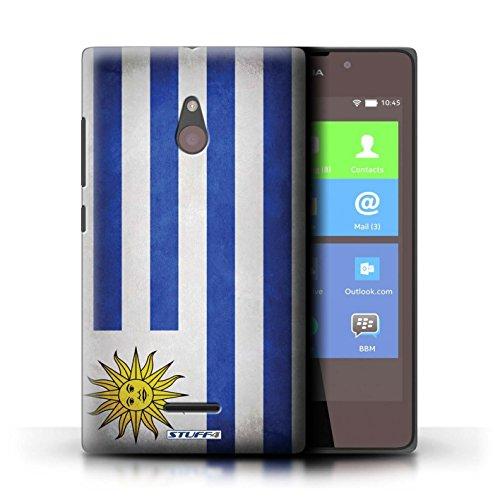 Kobalt® Imprimé Etui / Coque pour Nokia XL / Angleterre/anglais conception / Série Drapeau Uruguay/Uruguayen
