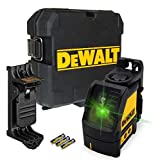 DEWALT B07G4N844W DW088CG 2 Way Self-Levelling Cross Line Green Laser