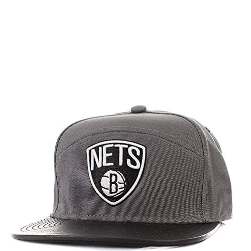 Mitchell & Ness Brooklyn Nets Homme Casquette Basketball Gris