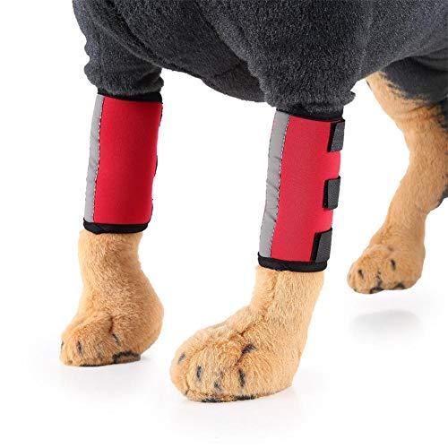 Adminitto88 Hundemantel mit Beinstulpen für Hunde, Zubehör für Haustiere, reflektierend,...