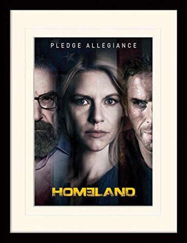 1art1-101881-homeland-pledge-allegiance-gerahmtes-poster-fur-fans-und-sammler-40-x-30-cm