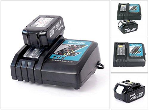 Makita DC 18 RC snabbladdare +  BL 1840 Battery Li-ion 4.0 Ah