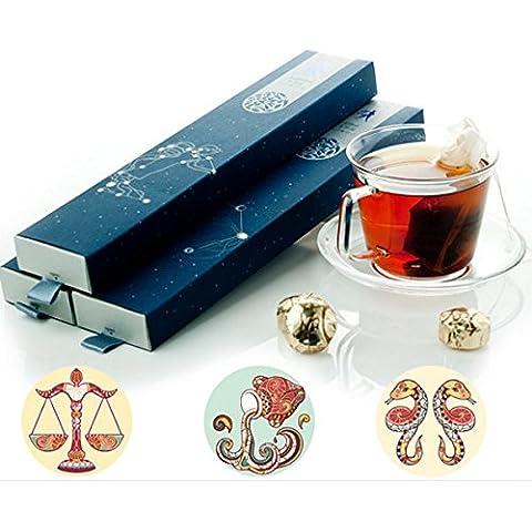 Paleo PU de Yunnan Dian erh té negro de mini constelación de la torta del té con la caja
