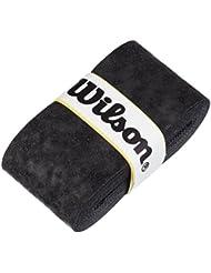 Wilson Advantage Overgrip de tenis, negro Pack 12 Unidades