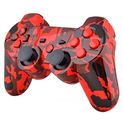 Playstation 3 Controller - Red Camouflage