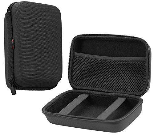 Navitech Grau Gummi beschichtet Gehäuse für die TOSHIBA Canvio Ready 500 GB (Grau-toshiba-laptop)