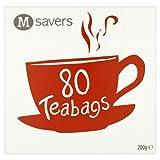 Morrisons Savers 80 Tea Bags, 200 g