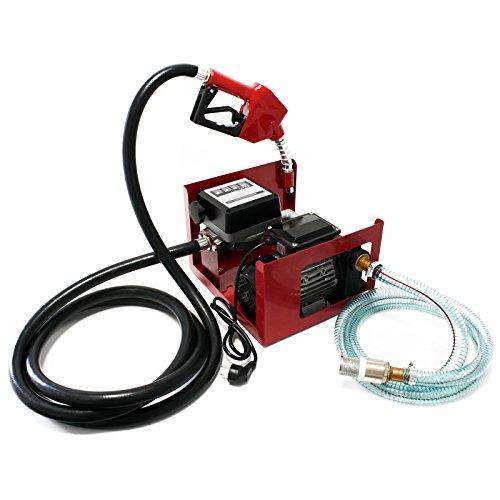 Preisvergleich Produktbild Bio Dieselpumpe Heizölpumpe selbstansaugend 230V/750W 80l/min automatische Pistole Umfüllpumpe