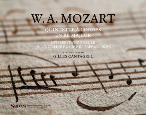 Quintette à cordes en ré majeur (KV 59...