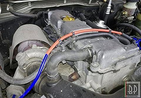 Gaine de protection pour moteur de voiture, en fibre de