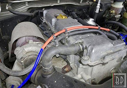 Guaina protezione tubi vano motore Auto. Resistenza calore raggi UV olio benzina, Colore ROSSO, diametro disponibile da 1 mm a 25 mm, venduto al metro (ID 3 mm)