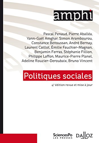Politiques sociales - 4e éd. par Pascal Penaud