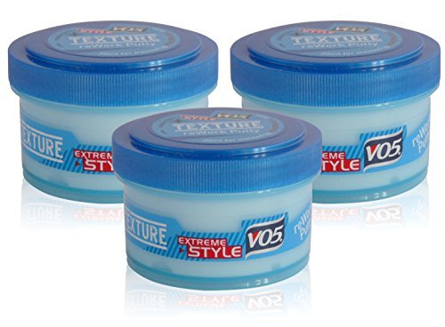 3x VO5 Extreme Style Texture REWORK PUTTY 24h Firm Hold Reworkable Hair 30ml by OV - Reworkable Putty