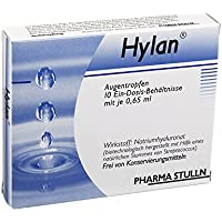 HYLAN 0,65 ml Augentropfen 10 St Augentropfen preisvergleich bei billige-tabletten.eu