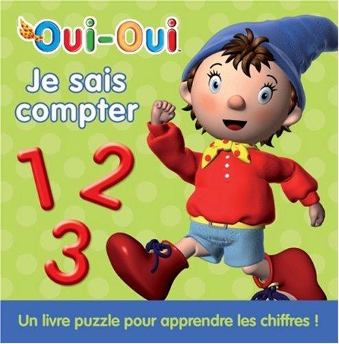 Je sais compter : Un livre puzzle pour apprendre les chiffres !
