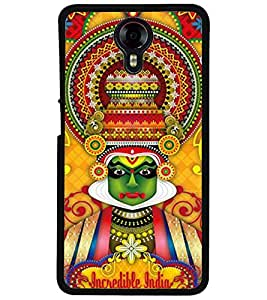 ColourCraft Incredible india Design Back Case Cover for MICROMAX CANVAS XPRESS 2 E313