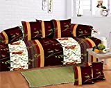 #3: GDH Outstanding Diwan Set of 8 pieces, Floral Print