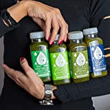 3 Tage Saftkur Grün von pressbar – 8 Flaschen pro Tag. Kaltgepresste Säfte für Deine Saftkur - mit hochwertigen und geschmacksintensiven natürlichen Obst & Gemüse Säften – nicht wärmebehandelt, ohne Zuckerzusatz